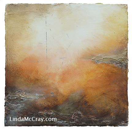 Abstract Spirital Paintings by Linda McCray